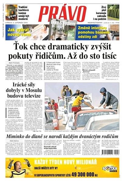 Právo - 02-11-2016 - Elektronické noviny
