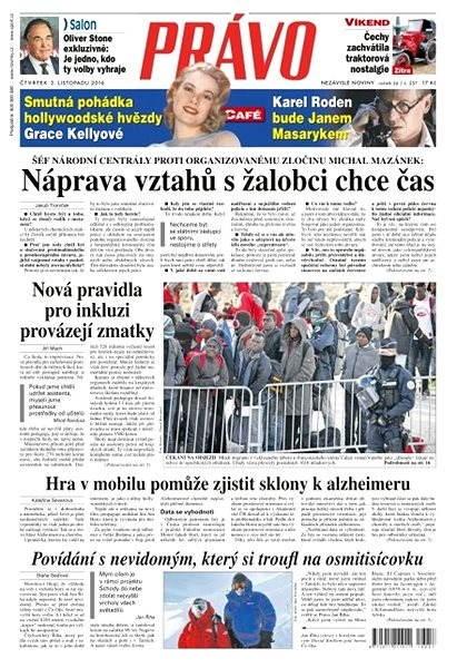 Právo - 03-11-2016 - Elektronické noviny