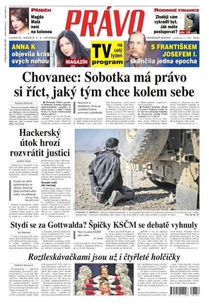 Právo - 05-11-2016 - Elektronické noviny