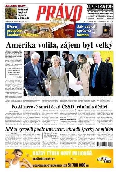 Právo - 09-11-2016 - Elektronické noviny