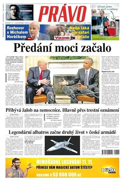 Právo - 11-11-2016 - Elektronické noviny
