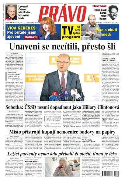 Právo - 12-11-2016 - Elektronické noviny