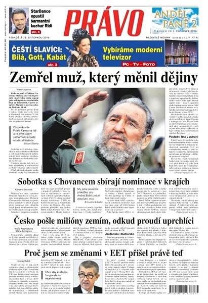 Právo - 28-11-2016 - Elektronické noviny