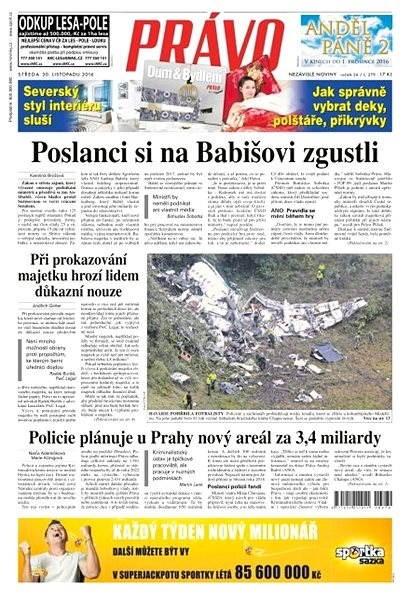 Právo - 30-11-2016 - Elektronické noviny