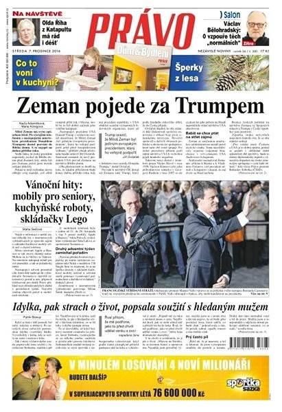 Právo - 07-12-2016 - Elektronické noviny