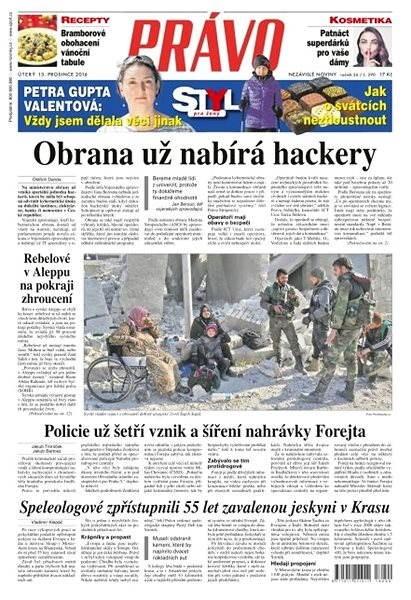 Právo - 13-12-2016 - Elektronické noviny