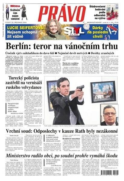 Právo - 20-12-2016 - Elektronické noviny