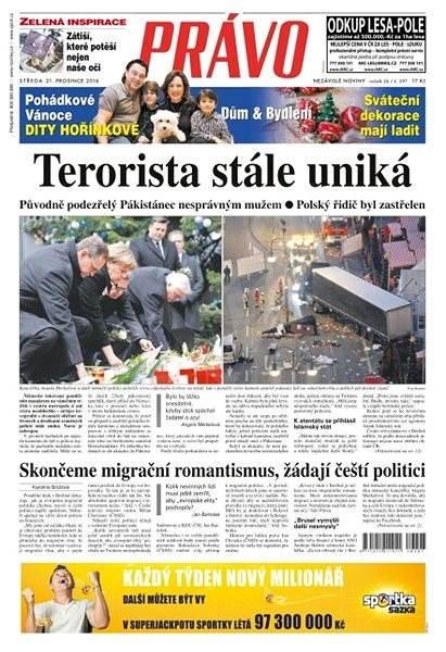 Právo - 21-12-2016 - Elektronické noviny