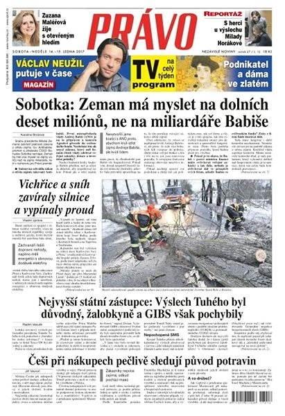 Právo - 14-01-2017 - Elektronické noviny