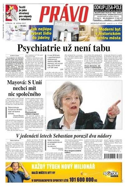 Právo - 18-01-2017 - Elektronické noviny