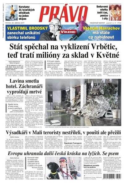 Právo - 20-01-2017 - Elektronické noviny