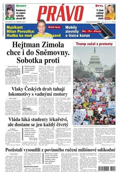 Právo - 23-01-2017 - Elektronické noviny