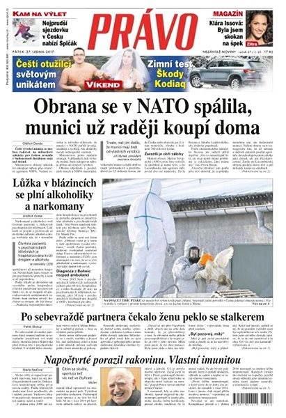 Právo - 27-01-2017 - Elektronické noviny