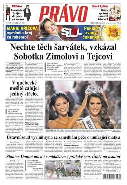 Právo - 31-01-2017 - Elektronické noviny
