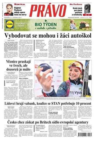 Právo - 06-02-2017 - Elektronické noviny