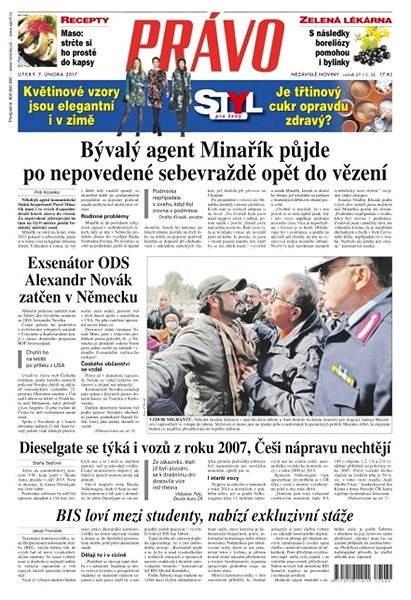 Právo - 07-02-2017 - Elektronické noviny