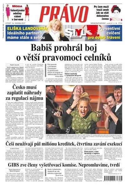 Právo - 14-02-2017 - Elektronické noviny