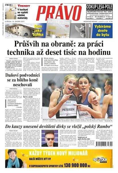 Právo - 15-02-2017 - Elektronické noviny