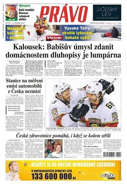 Právo - 17-02-2017 - Elektronické noviny