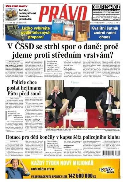 Právo - 22-02-2017 - Elektronické noviny
