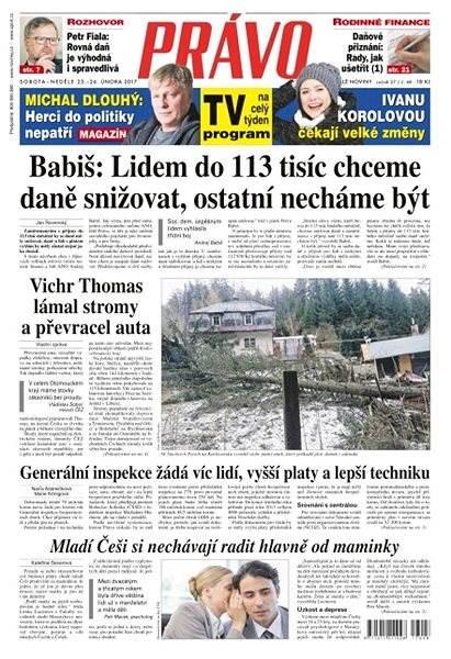 Právo - 25-02-2017 - Elektronické noviny