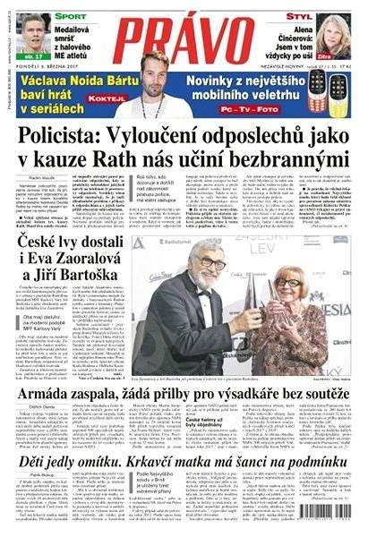 Právo - 06-03-2017 - Elektronické noviny
