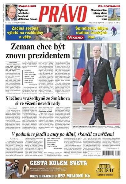 Právo - 10-03-2017 - Elektronické noviny