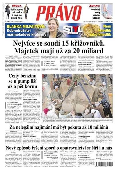 Právo - 14-03-2017 - Elektronické noviny
