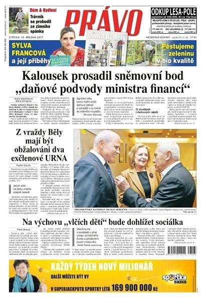 Právo - 15-03-2017 - Elektronické noviny