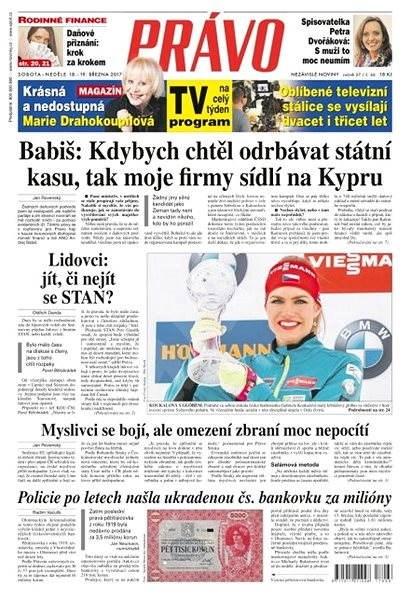 Právo - 18-03-2017 - Elektronické noviny