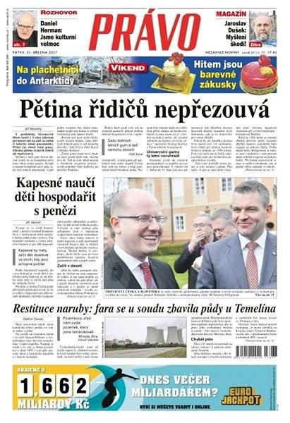 Právo - 31-03-2017 - Elektronické noviny