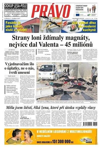 Právo - 05-04-2017 - Elektronické noviny