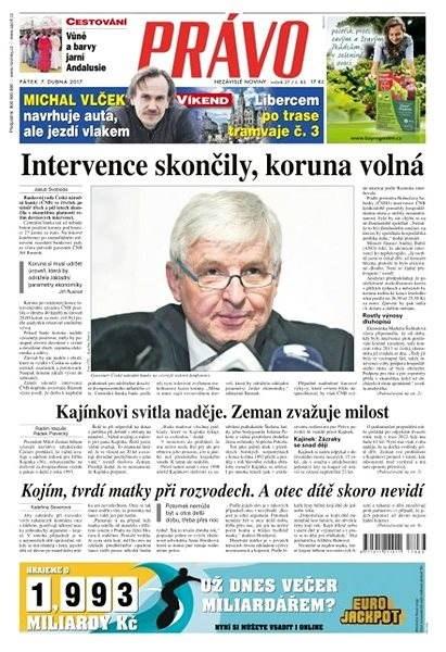 Právo - 07-04-2017 - Elektronické noviny