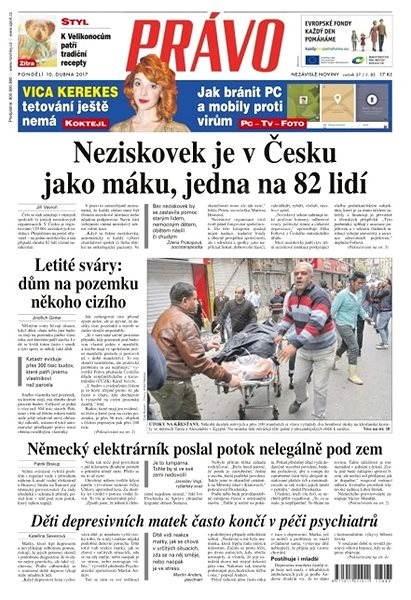 Právo - 10-04-2017 - Elektronické noviny