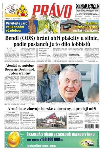 Právo - 12-04-2017 - Elektronické noviny