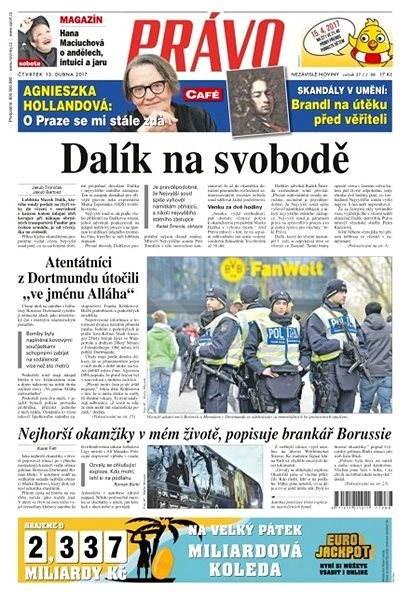 Právo - 13-04-2017 - Elektronické noviny