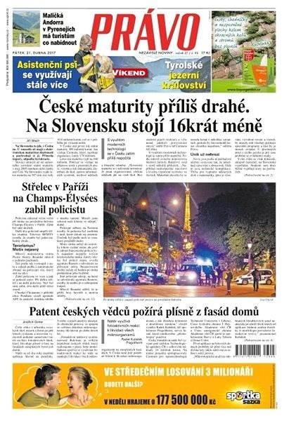 Právo - 21-04-2017 - Elektronické noviny