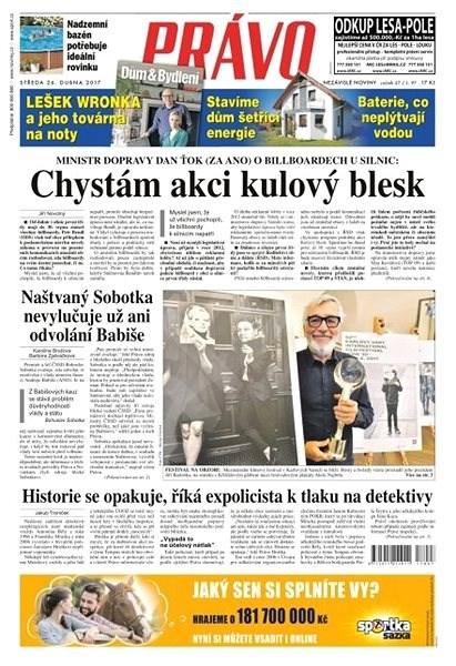 Právo - 26-04-2017 - Elektronické noviny
