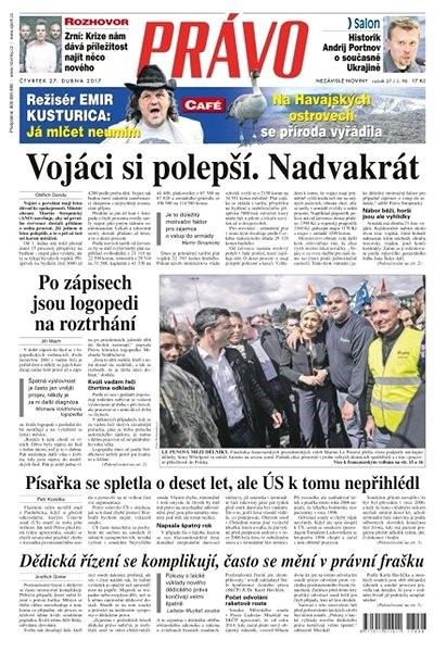 Právo - 27-04-2017 - Elektronické noviny