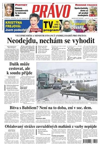 Právo - 29-04-2017 - Elektronické noviny