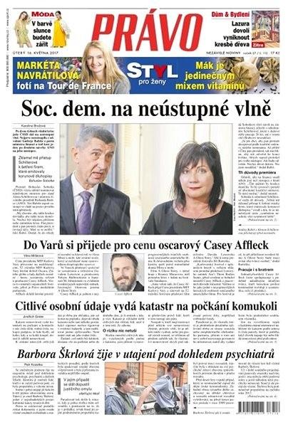 Právo - 16-05-2017 - Elektronické noviny