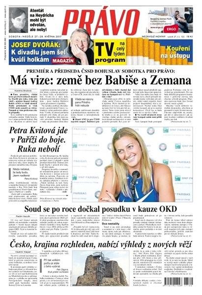 Právo - 27-05-2017 - Elektronické noviny