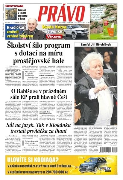 Právo - 02-06-2017 - Elektronické noviny