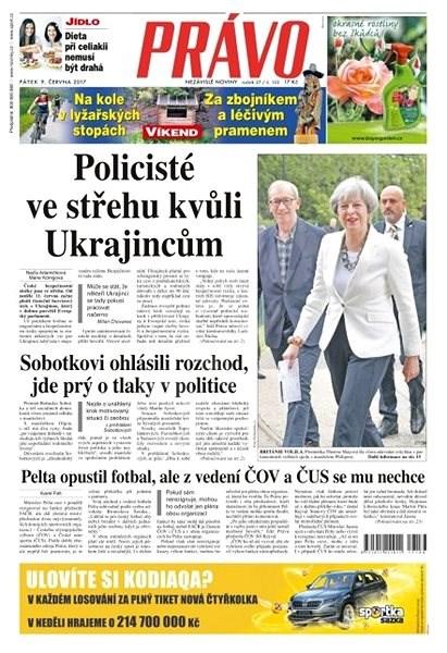 Právo - 09-06-2017 - Elektronické noviny