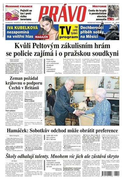 Právo - 17-06-2017 - Elektronické noviny
