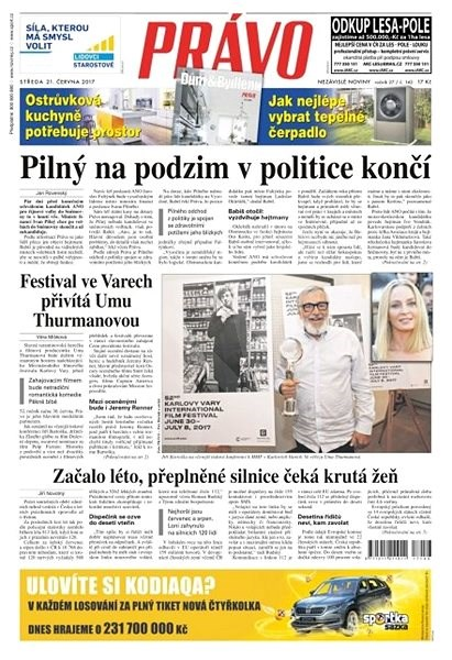 Právo - 21-06-2017 - Elektronické noviny