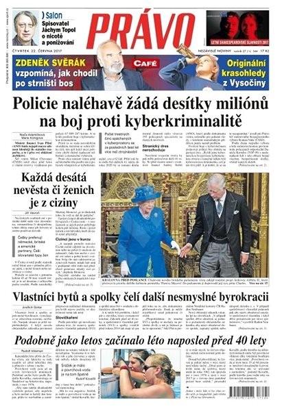 Právo - 22-06-2017 - Elektronické noviny