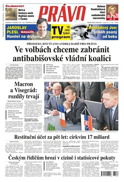 Právo - 24-06-2017 - Elektronické noviny