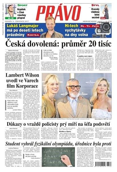 Právo - 03-07-2017 - Elektronické noviny