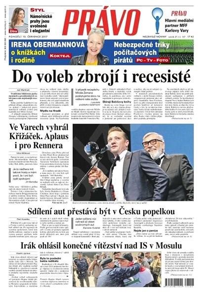Právo - 10-07-2017 - Elektronické noviny